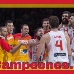Ramos felicita a los chicos del basket