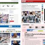 La prensa mundial se rinde a Cristiano y deja en ridículo a la prensa oportunista española