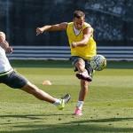 Último entrenamiento semanal en pleno Virus FIFA