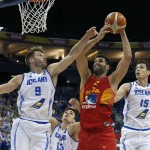 Felipe Reyes: «Lo importante era ganar, era un día complicado»