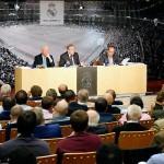 Florentino se reunió por segunda vez antes de la Asamblea con los Socios Compromisarios