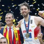 Gasol: » Es maravilloso ganar Tres Eurobasket con España»