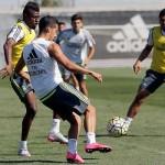 Tercera sesión de entrenamientos en la semana del Virus FIFA