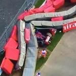 Fuerte accidente de Carlos Sainz en los Libres 3 del GP de Rusia