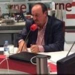 Benítez en RNE (I): «Los aficionados del Madrid piden una entrega máxima y ganar»