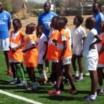 La Fundación Real Madrid impartió su curso de formación en Bostsuana