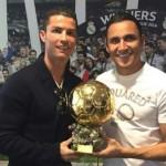 Keylor Navas elogia a Cristiano: » Es el número uno»