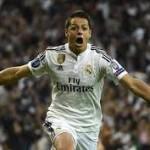 Chicharito: » Haber jugado en el Real Madrid fue increíble»