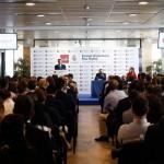 El Buitre inauguró el curso académico 2015-16 en la Universidad Europea de Madrid