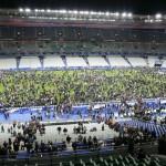 Uno de los terroristas suicidas tenía entrada para Saint Denis