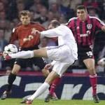 Zidane, una leyenda madridista, en el banquillo del Bernabeu