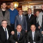 Florentino Pérez asistió a la cena aniversario de la Federación de Peñas Madridistas