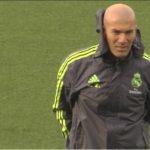 Zidane:»No me preocupa que no juegue la BBC»