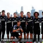 Marcelo, Lucas, Keylor, Morata y James protagonistas en un acto de Adidas