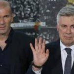 Zidane gana a su maestro Ancelotti