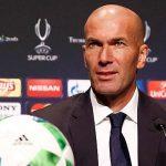 Zidane: «Aunque no lleguen fichajes, tenemos plantilla de sobra»