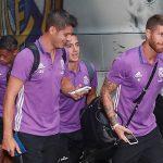 El Real Madrid se concentró para la cita de mañana ante Osasuna