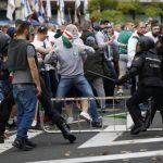 Los Ultras del Legia la lían en los alrededores del Santiago Bernabéu