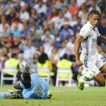 Mariano debutó en liga con la camiseta del Real Madrid