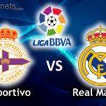 GOL DE ISCO. Deportivo 1 – 5 Real Madrid. Segunda Mitad .