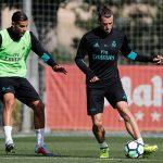 El Madrid ya piensa en el Español. Primer entrenamiento en la Ciudad Real Madrid de Valdebebas.