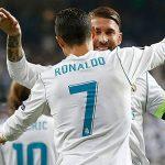 CR7, máximo goleador del equipo con 5 dianas, 4 de ellas en Champions League