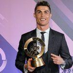 CR7 revalida el premio » Quinas» al mejor jugador portugués (2016-2017)