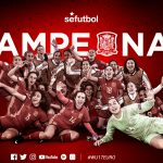 La rojita sub 17 de Eva Navarro se corona campeona de Europa ante la bestia negra, Alemania (2-0)