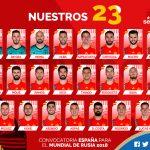 Los 23 de Lopetegui para ganar nuestro segundo mundial: Rodrigo y Azpilicueta entran en la lista y dejan a Morata y Bartra sin mundial