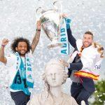 La fiesta de la Decimotercera Champions en Madrid