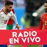Segundo partido de España  en el mundial de Rusia contra Irán