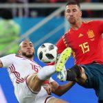 Último partido de España de la fase de clasificación en el mundial de Rusia