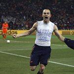 Iniesta, el héroe del mundial de Sudáfrica, se despide de la selección: » Ha sigo un orgullo defender la camiseta de España. ¡Siempre con la Roja!