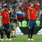 Hasta el cielo se puso a llorar cuando España dijo adiós.