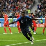 Primera semifinal entre Francia y Bégica mundial de Rusia 2018