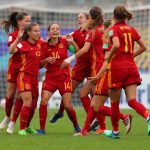 La roja femenina de fútbol a un soñado triplete ( Europeo sub 17, Europeo sub 19 y Mundialito sub 20)