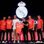 El Real Madrid presentó en USA su tercera equipación, de color rojo Coral