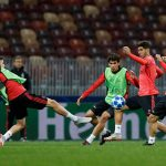 El Real Madrid se entrenó en el Luzhniki Stadium