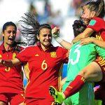 Vídeo: El grito de guerra de la rojita femenina sub 17 antes de los partidos. ¡El grito talismán para ganar el mundial!.