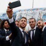 El Real Madrid llegó a Abu Dabi