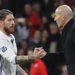 Sergio Ramos se despide de Zidane