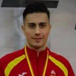 Rodrigo Ibáñez, segunda medalla para el karate español. El riojano suma el Bronce en -75 kilos.