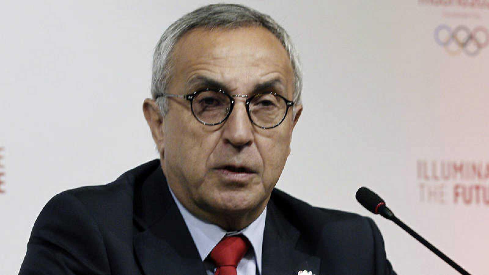 Alejandro Blanco durante una rueda de prensa. Fuente de imagen: EFE NOTICIAS