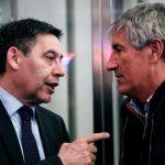 El esperpento total, F.C.Barcelona, cada vez más cerca: Ahora Setién manda un burofax solicitando su despido oficial.