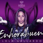 Lola Gallardo y Vero Boquete, las dos españolas campeonas de Europa.
