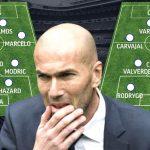 Zidane: «Hoy las condiciones no estaban para hacer un buen partido de fútbol»
