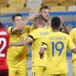 Ucrania, rival el domingo de España, líder del grupo 4 de la Nations League.