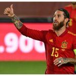Ramos ya es el jugador de la historia de la Selección española con más minutos disputados