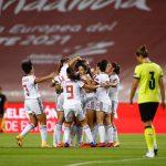 Crónica: España-República Checa. La selección española femenina se coloca como líder en solitario del Grupo D