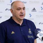 Laso:» En Liga, el equipo está compitiendo muy duro pero cada partido es una nueva dificultad»